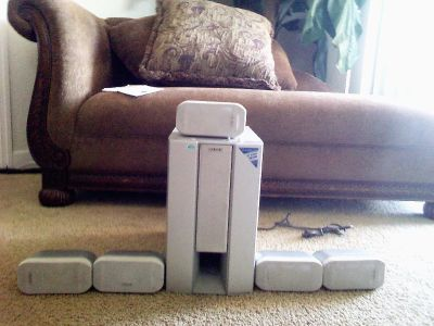 Sony Micro satelite speaker system with subwoofer