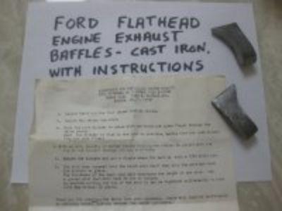 Flathead Ford Exhaust Baffles