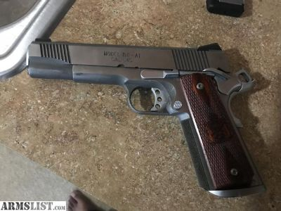 For Sale: Springfield 1911 loaded stainless