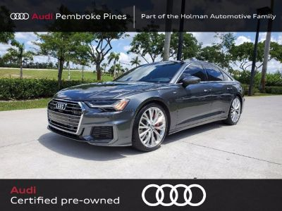 2019 Audi A6 Prestige (Daytona Gray Pearl Effect)