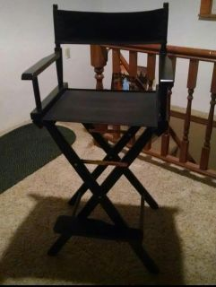 Tall director's chairs