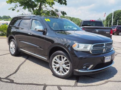 2014 Dodge Durango Citadel (Brilliant Black Crystal Pearlcoat)
