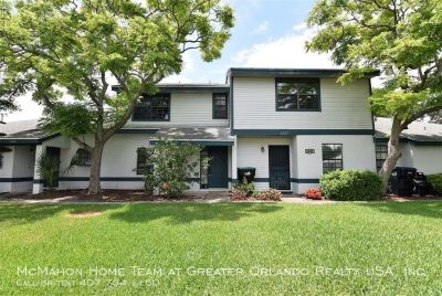 East Orlando 2br/2.5ba townhome in Chancellor's Row.. Tile floors downstairs, wood burning fireplace, community pool and tennis!