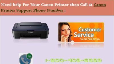 Canon Printer Customer Service Number +1-800-408-6389 toll-free 24*7