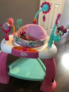 Minnie Mouse Baby Exersaucer