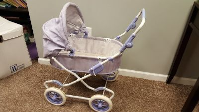 RETIRED American girl doll stroller