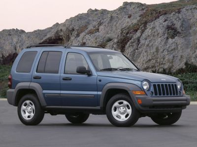 2006 Jeep Liberty Sport (Stone White Clearcoat)