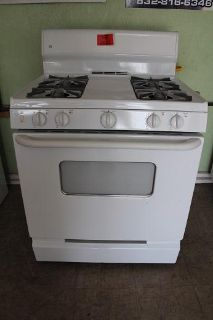 $199, Appliances For Less $$$ GE White Gas Stove