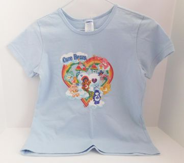 Care Bears Care-A-Lot T-Shirt short sleeve, Kids Size Large 10-12 NWT