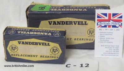 Find BMW MAIN & ROD BEARINGS .020 SOLD AS SET ONLY motorcycle in Morrisville, Pennsylvania, United States, for US $95.95
