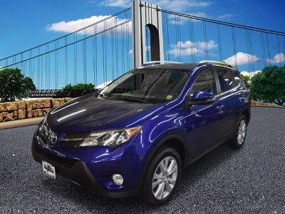 2015 Toyota RAV4 Limited (Blue Crush Metallic)