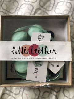 Little Teether teething necklace NEW