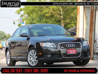 2008 Audi A4 2.0T quattro (Brilliant Black)