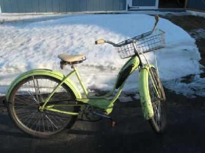 $150 1955 ladies Schwinn Starlet
