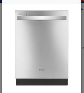 Whirlpool gold series dishwasher stainless Steel