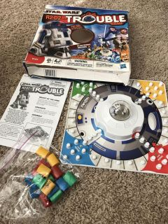 Star Wars Trouble Game, complete