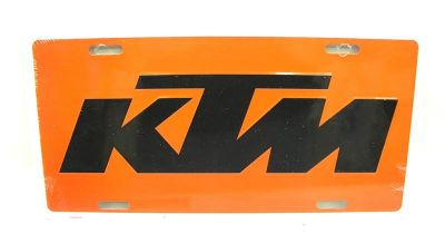 Buy KTM450 License Plate Orange KTM 125 250 300 450 Truck Van Trailer MX Enduro GNCC motorcycle in Duncansville, Pennsylvania, US, for US $9.99