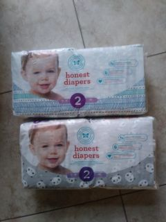 Honest diapers size 2
