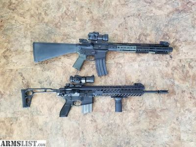 For Sale: Sig mcx and ar15