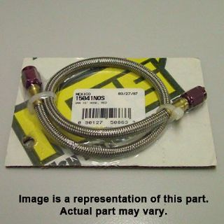 Buy NOS 15051 18 in. Braided -3AN Nitrous Hose Line Red motorcycle in Suitland, Maryland, United States, for US $42.70