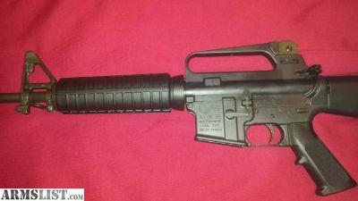 For Sale: Colt AR 15 A2 Lightweight Govt. Carbine 5.56 Restricted