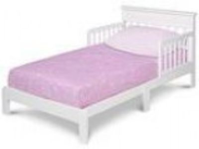 Delta Children Scottsdale Toddler Bed White