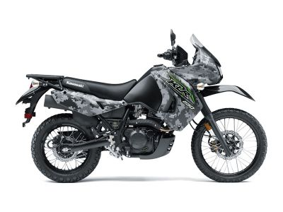 2018 Kawasaki KLR 650 Camo Dual Purpose Motorcycles Littleton, NH