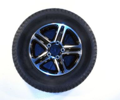 Buy Radial Trailer Tire Rim ST175/80R13 Load C 5 Lug Aluminum T09 Black Spoke 58927 motorcycle in Naples, Florida, United States, for US $137.95