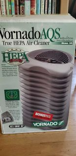 Hepa filter air cleaner