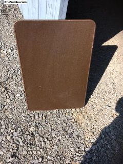 Westfalia Large Rear Brown Table