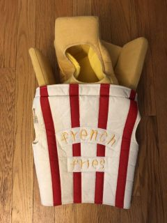 Pottery barn kids French Fry small fry costume 2/3