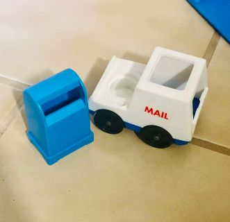 Vintage FP Mailbox and Truck
