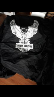 Harley Touring bike dust cover