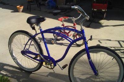 $75 PBR Beach Cruiser Bike
