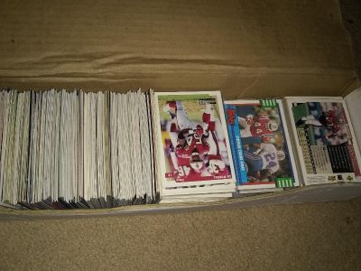 Lot of NFL cards