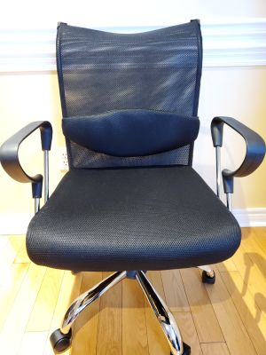 BNIB - Flash Furniture Ergonomic Managers Office Chair With Adjustable Lumbar Support