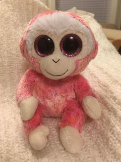 """Ty collectible monkey """"Ruby"""""""
