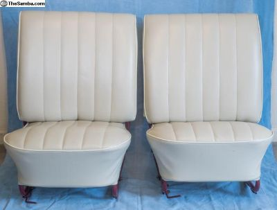 Pair of Low Back Front Seats for 1966 Bug/Beetle