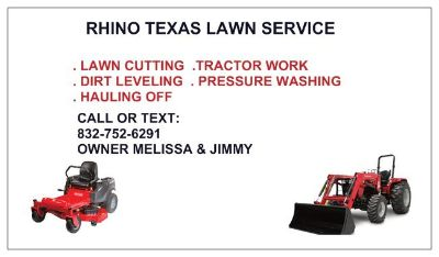 Lawn and Tractor work