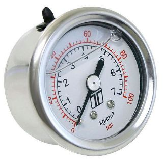 Buy Turbosmart TS-0402-2023 Fuel Pressure Gauge 0-100 psi motorcycle in Delaware, Ohio, United States, for US $23.05