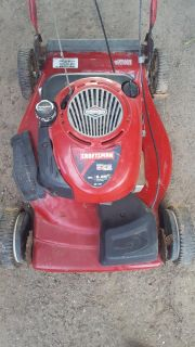 selling a craftsman self propelled lawn mower
