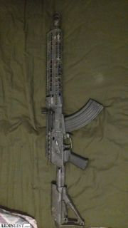 For Sale/Trade: Converted saiga 7.62 with extras