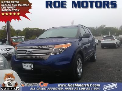 2013 Ford Explorer Base (Deep Impact Blue Metallic)