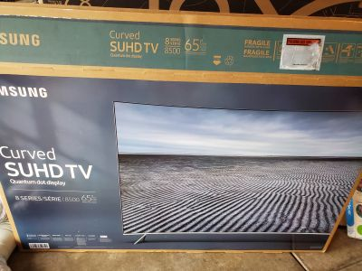 Samsung curve SUHD KS8500 65in Smart TV