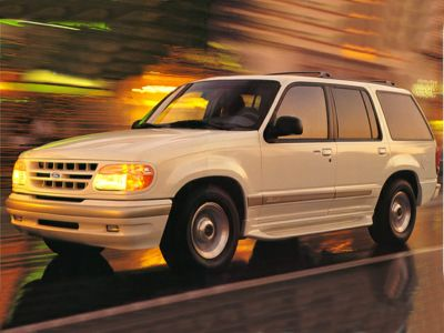 1998 Ford Explorer Limited (Green)