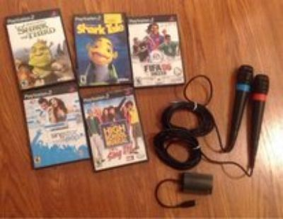Nintendo PlayStation 2 game lot