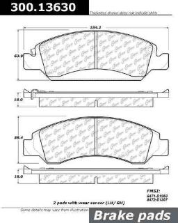 Purchase CENTRIC 300.13630 Brake Pad or Shoe, Front-Premium Semi-Met Pads w/Shims motorcycle in Saint Paul, Minnesota, US, for US $27.87