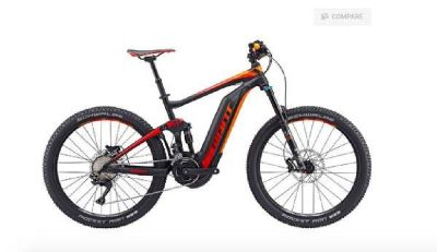 NEW 2017 Giant Full Suspension Electric Mountain Bike for Sale! -