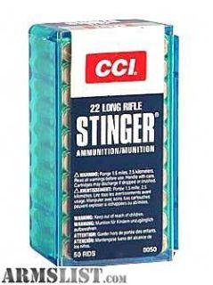 For Sale: CCI Stingers