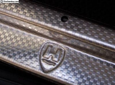 Door Sill Plates - Stainless - Bug & Ghia